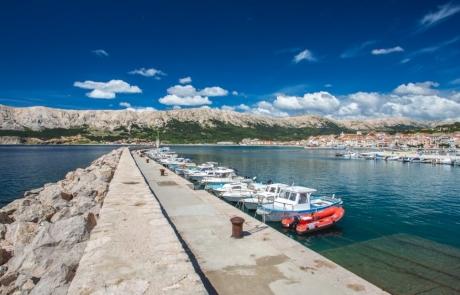 Baska, island Krk